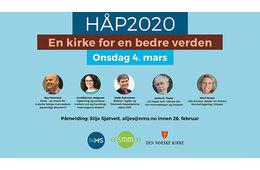 HÅP 2020 - konferanse for en bedre verden